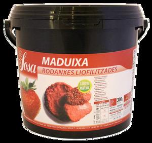 Bild på Frystorkade skivade jordgubbar 250 g