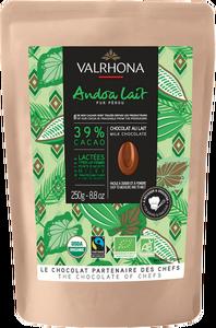 Bild på Valrhona Andoa mjölk 39% 250 g