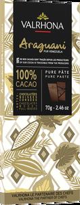 Bild på Valrhona Araguani 100% kaka 70 g