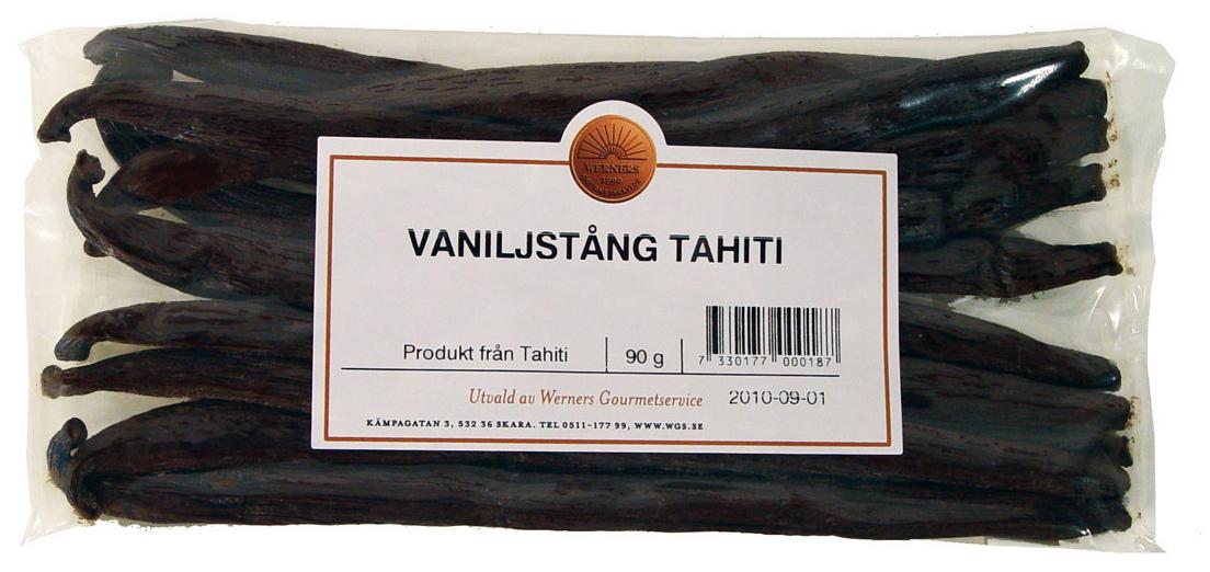 Vaniljstång Tahiti 90 g